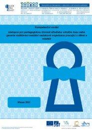 Kompetenční model zástupce pro pedagogickou činnost ... - NIDM