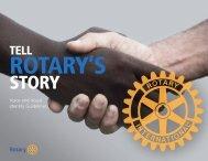 Tell Rotary's Story