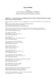 Elenco delle opere in mostra - Nannimagazine.it