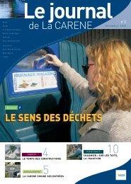 de La CARENE LE SENS DES DÉCHETS - La Carène