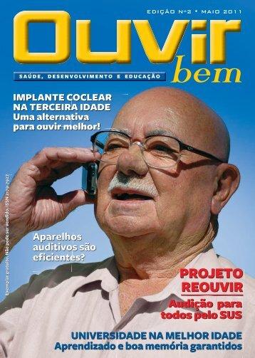 PROJETO REOUVIR - Fundação Otorrinolaringologia