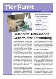 Februar 2010 - Kleintierpraxis Dr. Fritz