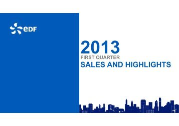 The presentation (PDF, 437 Kb) - Shareholders and investors - EDF
