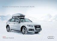 Ruote Complete Invernali Audi.