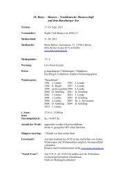 Haftungsausschluss - Segler - Club Hansa