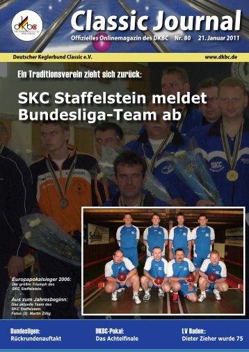 Classic Journal Online 80.2011 - Deutscher Kegler