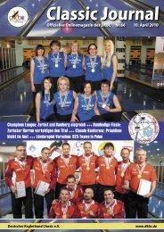 Classic Journal Online 66.2010 - Deutscher Kegler