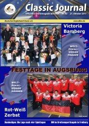 Classic-Journal 92/2011 - Deutscher Kegler