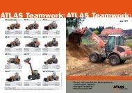 Technische Daten Prospekt AR 75T - ATLAS Hydraulikbagger