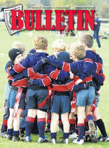 full April Bulletin - Biggleswade Rugby Club