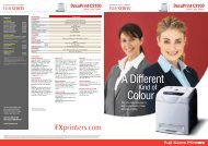 DocuPrint C2100 - Fuji Xerox Printers