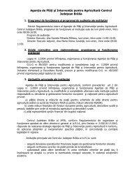 Agenţia de Plăţi şi Intervenţie pentru Agricultură ... - Prefectura Braila
