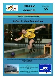 Classic Journal 55 - SG Grün-Weiß Mehltheuer e.V.