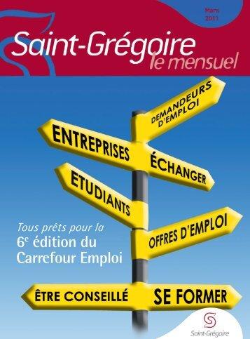 Saint-Grégoire, le Mensuel Mars 2011