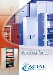 Armoires fortes - SELOMA AMENAGEMENT : mobilier de bureau ...