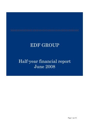 The Financial Report (PDF, 2.2 Mb) - Shareholders and investors