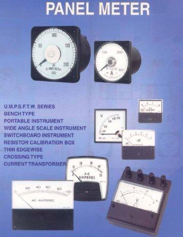 Hoyt Panel Meter - Davidson Sales Co.