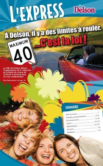 Mars 2010 - Ville de Delson