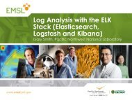 Log Analysis with the ELK Stack