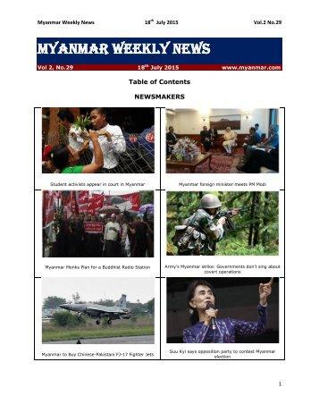 Myanmar_Weekly_News_Vol02_No.29