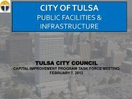 Public Facilities - The City of Tulsa Online