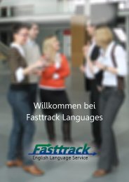 Broschüre - Fasttrack Language Services