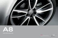 Audi A8 Accessories - Audi.vn