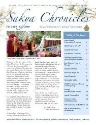Sakya Chronicles: 2010 - the Sakya Monastery of Tibetan Buddhism