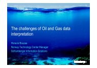 The challenges of Oil and Gas data interpretation