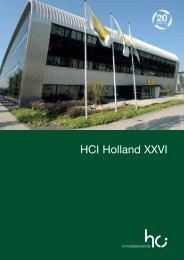 Profitieren Sie von den Vorteilen des HCI Holland XXVI - Berg, Bernd