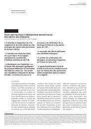 • à refonder la législation de l'im- migration et du droit d'asile ... - Crid