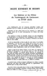 SOtIfiTÉ HISTORIQUE DE SOISSONS - Société archéologique ...