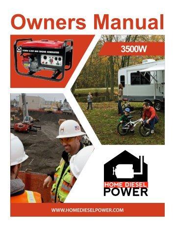 06041_3500w_ generator_EN .fm - Home Diesel Power - Affordable ...