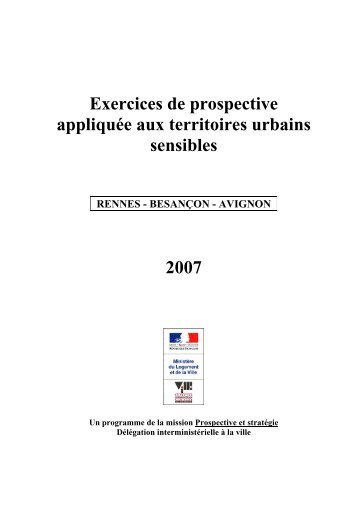 Exercices de prospective appliquée aux territoires ... - CRPV-PACA