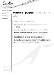 04 - Cahier des clauses techniques particulières _CCTP - Sarzeau