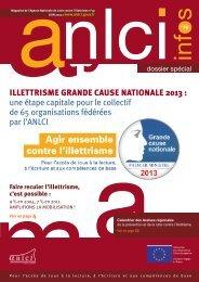 ILLETTRISME GRANDE CAUSE NATIONALE 2013 - Agence ...