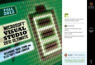 Tester Training with Visual Studio® 2010 Ultimate - SQE.com