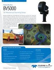 BV5000 - BlueView Technologies, Inc.