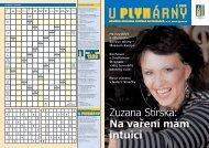 Zuzana Stírská: Na vaření mám intuici - Pražská plynárenská as