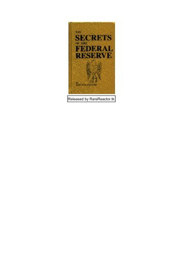 eustace-mullins-the-secrets-of-the-federal-reserve