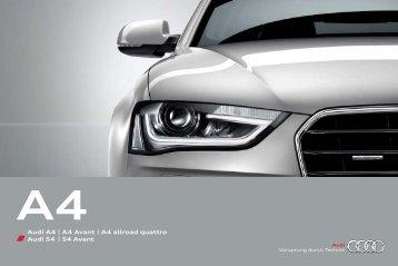 Télécharger le catalogue - Audi