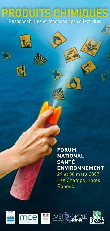 Produits chimiques : responsabilités et réponses des collectivités