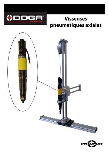Visseuses pneumatiques axiales - Doga