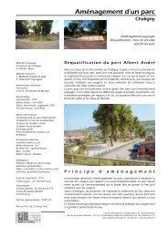 Aménagement d'un parc - CAUE 54