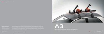 Accessori per Audi A3/A3 Sportback/A3 Cabriolet - Automoto.it