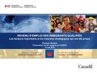Elizabeth Ruddick - Association des économistes québécois