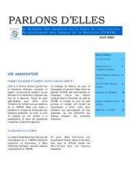Bulletin Avril 2009 - Table de concertation du mouvement des ...