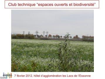 espaces ouverts et biodiversité - AUDESO