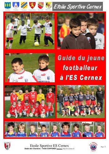 guide du jeune footballeur(2010-2011) - Etoile Sportive Cernex