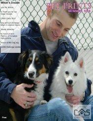 Summer newsletter 2013 - Cheyenne Animal Shelter